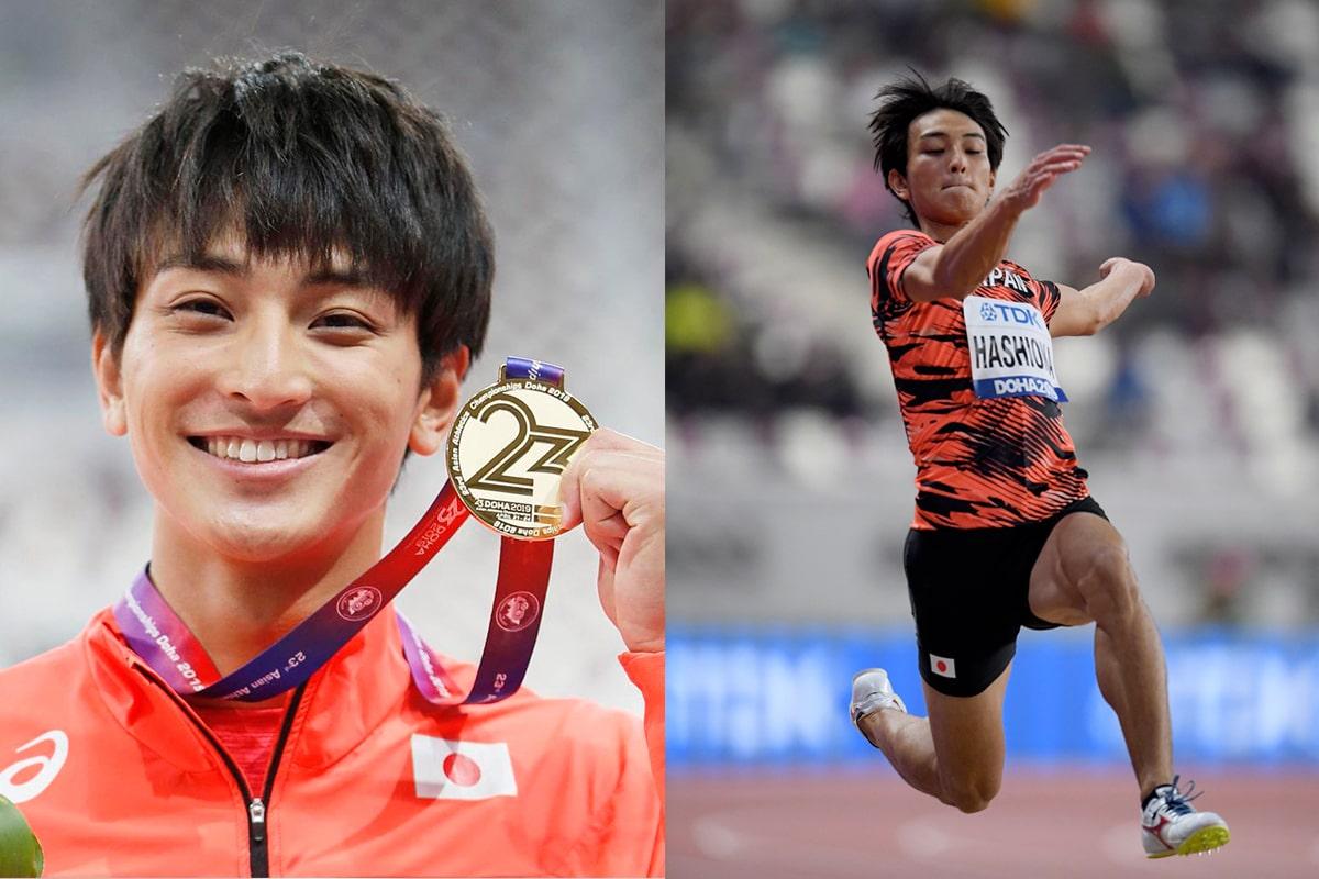 橋岡優輝と横浜流星が似てるか画像比較!イケメン走り幅跳び選手で話題!いとこも五輪出場!