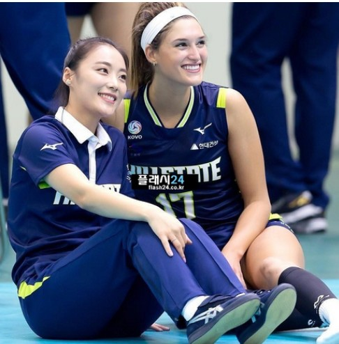 韓国バレーの通訳が可愛い!チェユンジのプロフィールや画像をご紹介!東京オリンピック